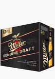 Miller Genuine Draft - 12 x 355 ml-Beer