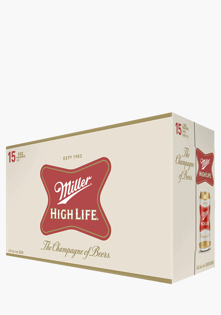 Miller High Life - 15 X 355 ml-Beer