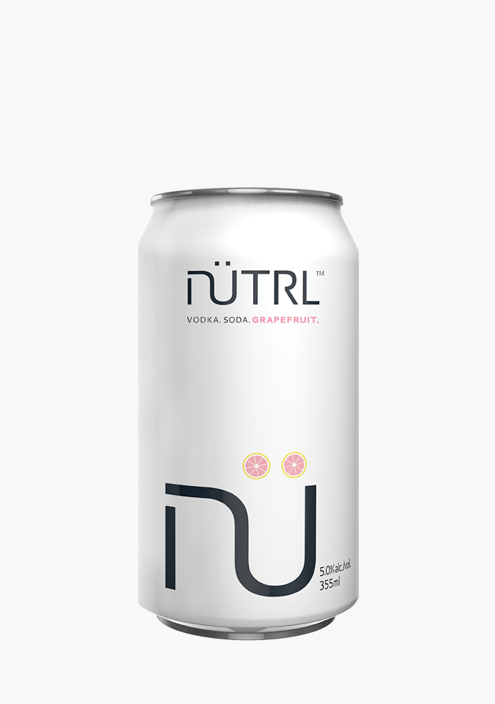 Nutrl Vodka Soda Grapefruit-Coolers