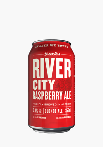Brewsters River City Raspberry - 6 x 355 ml