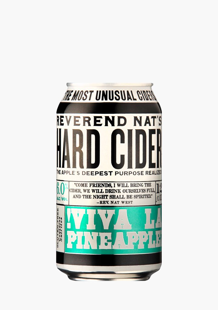Reverend Nat's Viva La Pineapple - 355 ml