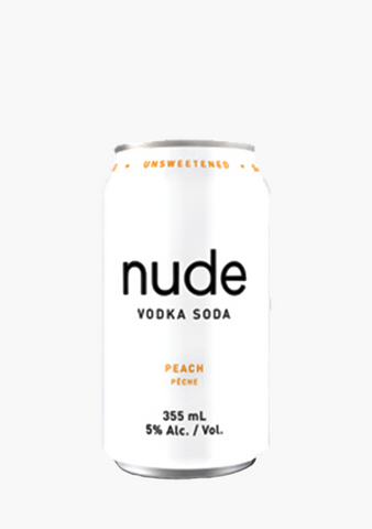 Nude Vodka Soda Peach - 6 x 355 ml-Coolers