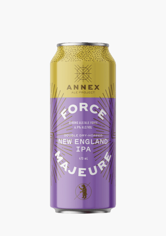Annex Force Majeure New England IPA - 4x473ML-Beer
