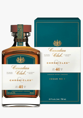 Canadian Club 41 Year Chronicles-Spirits
