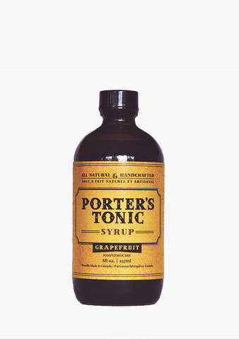 Porter's Tonic Grapefruit Syrup