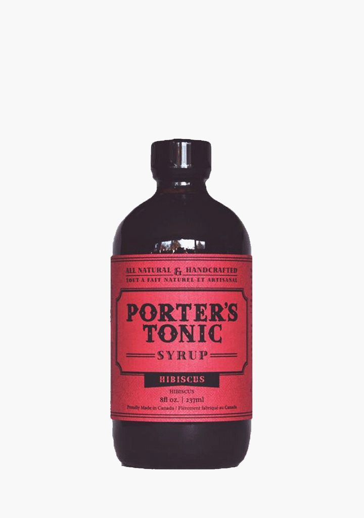 Porter's Tonic Hibiscus Syrup-Syrup