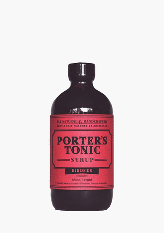 Porter's Tonic Hibiscus Syrup