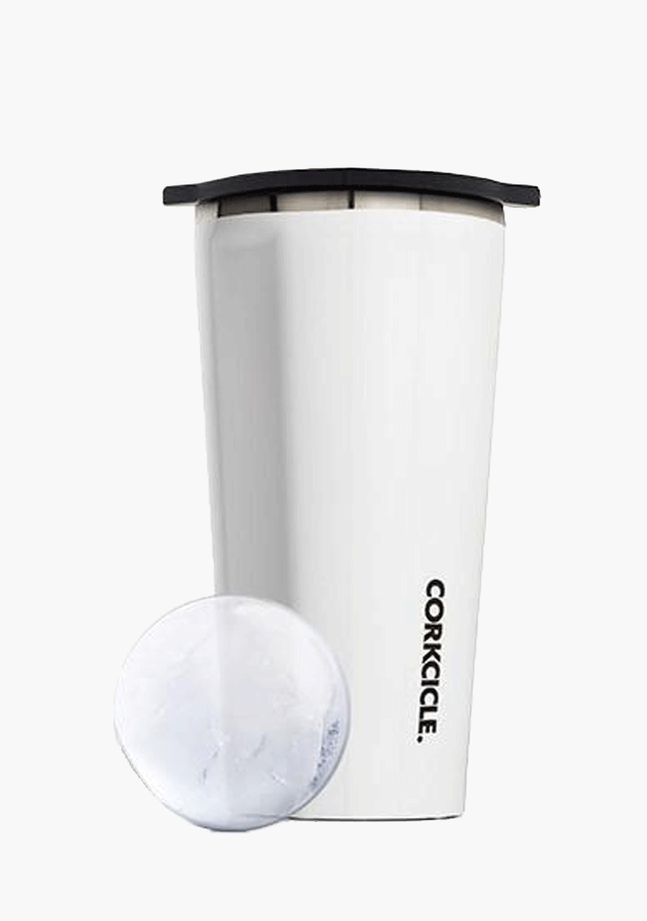 Corkcicle Invisiball Ice Maker - White-Giftware