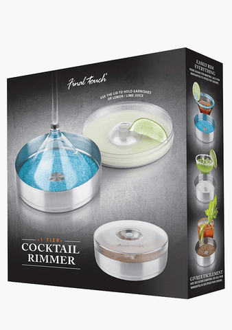 Final Touch Cocktail Rimmer 1 Tier-Giftware