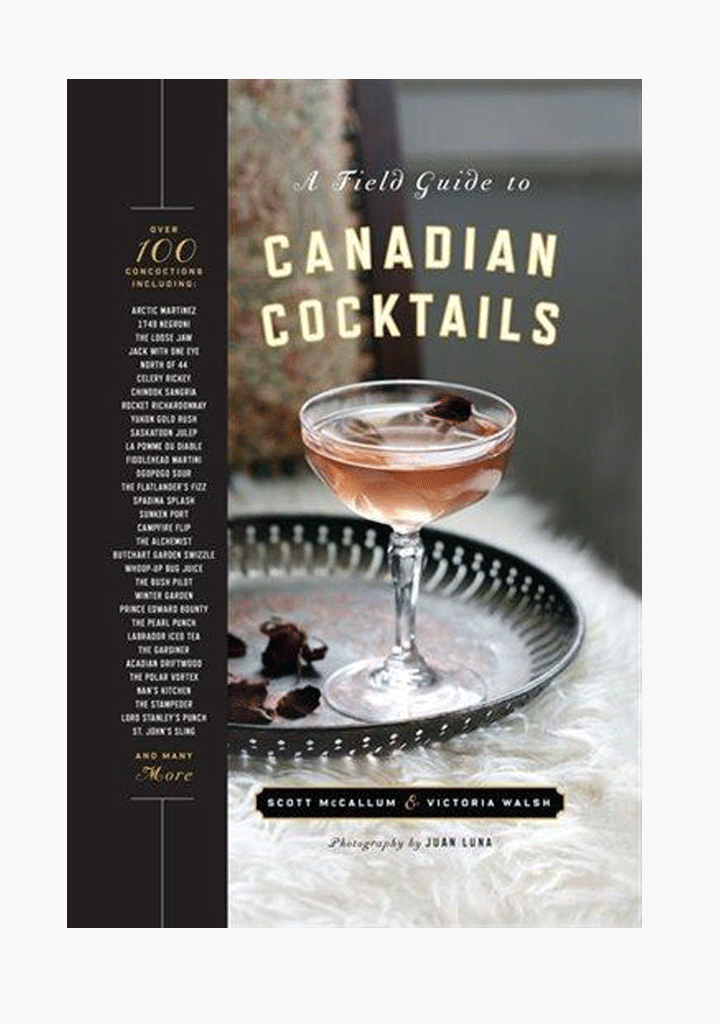 A Field Guide to Canadian Cocktails-Book