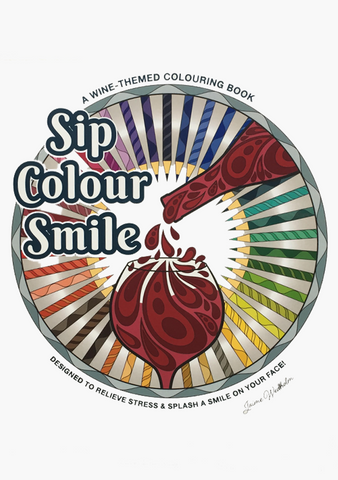 Sip. Colour. Smile. Book
