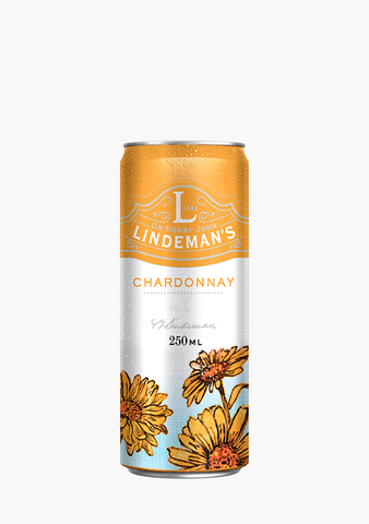 Lindeman's Chardonnay Can - 250 ml-Wine