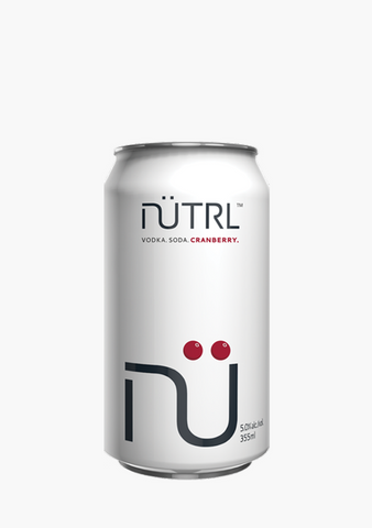 Nutrl Vodka Soda Cranberry-Coolers