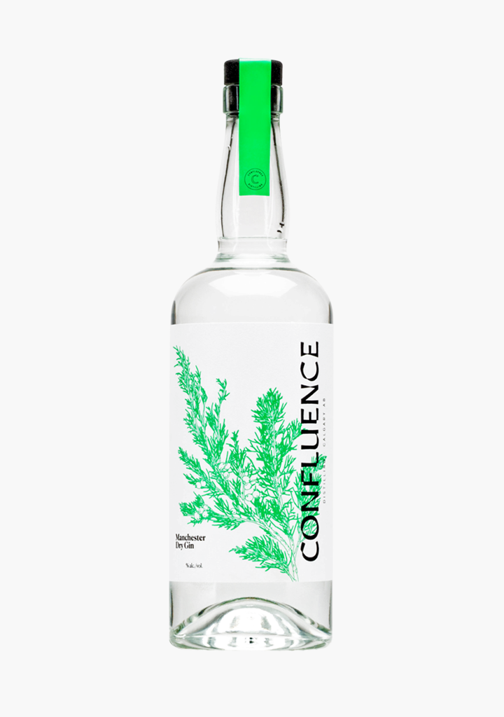 Confluence Manchester Dry Gin-Spirits