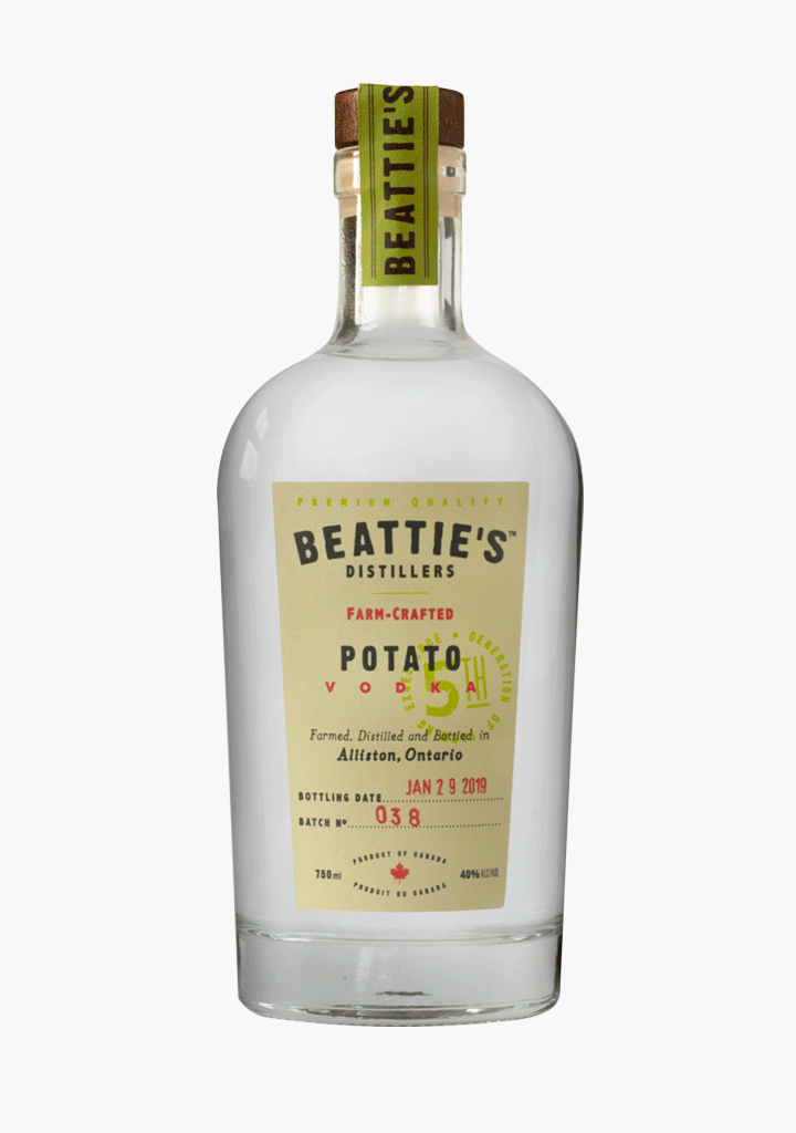 Beattie's Farm Crafted Vodka-Spirits