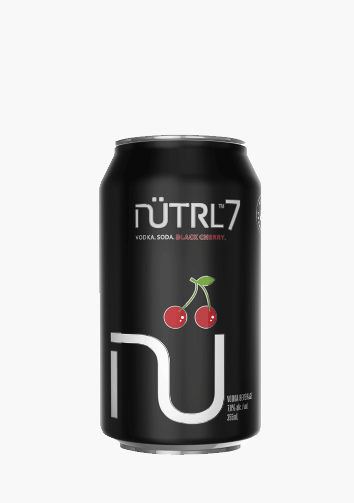 Nutrl Vodka Soda Black Cherry - 4 x 355 ml-Coolers