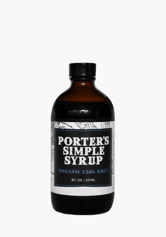 Porter's Syrup Earl Grey Simple Syrup
