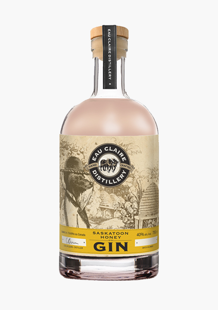 Eau Claire Saskatoon Honey Gin-Spirits