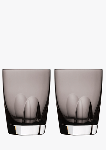 Waterford Shale Tumbler Pair-Glassware