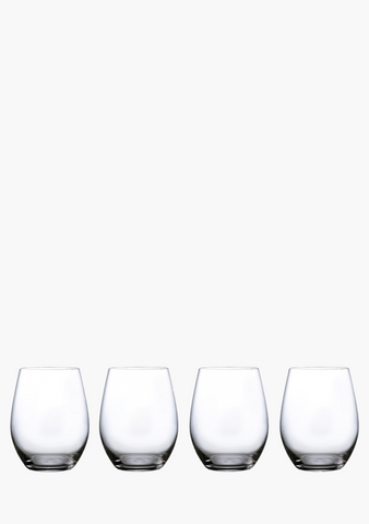 Waterford Marquis Moments Stemless Wine Glasses - 4 Pack-Glassware