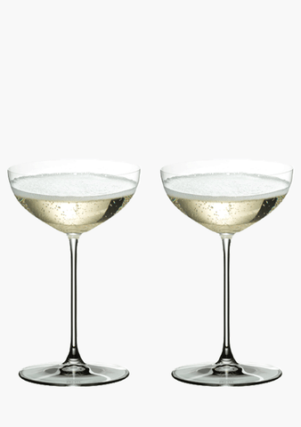 Riedel Veritas Coupe/Cocktail Pair-Glassware