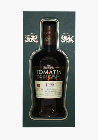 Tomatin Willow Park Cask 1990