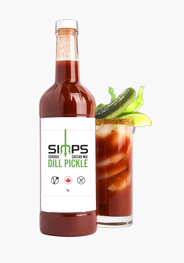 Simp's Serious Dill Pickle Caeser Mix-Syrup