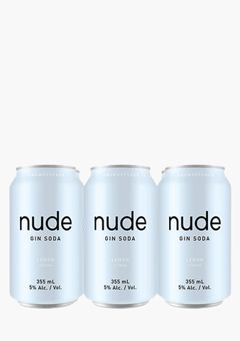 Nude Gin Soda - 6 x 355 ml-Coolers