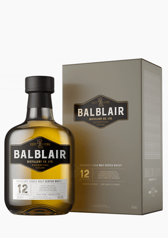 Balblair 12 Year Old Single Malt-Spirits