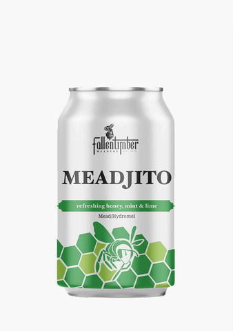 Fallentimber Meadjito Cans - 4 x 355 ml-Coolers