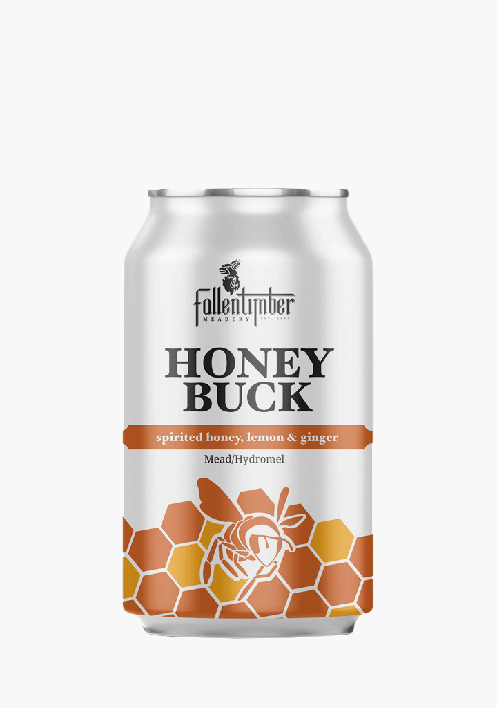 Fallentimber Meadery Honey Buck - 4 x 355ML-Mead