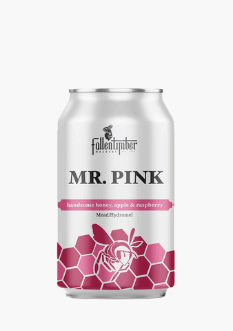 Fallentimber Meadery Mr. Pink - 4 x 355ML-Mead