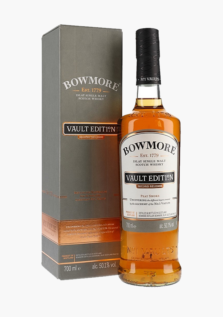 "Bowmore Vaults 2nd Release ""Peat Smoke""-Spirits"