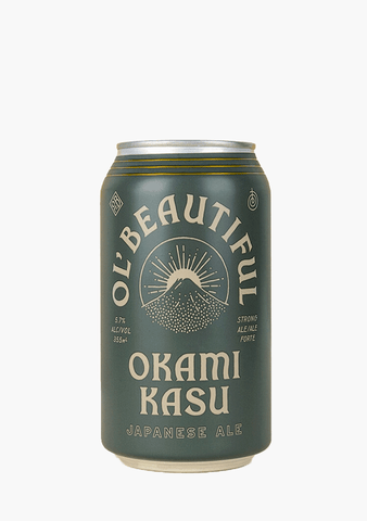 Ol' Beautiful Okami Kasu Ale - 6x355ML-Beer