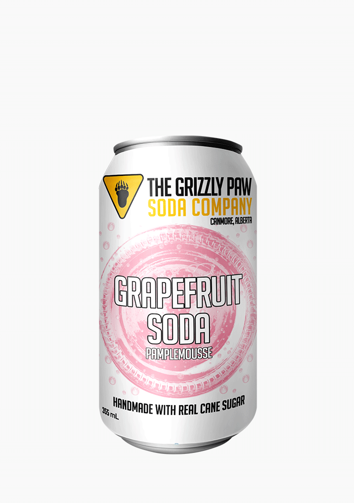 Grizzly Paw Grapefruit - 4 x 355ML-Non-Alcoholic