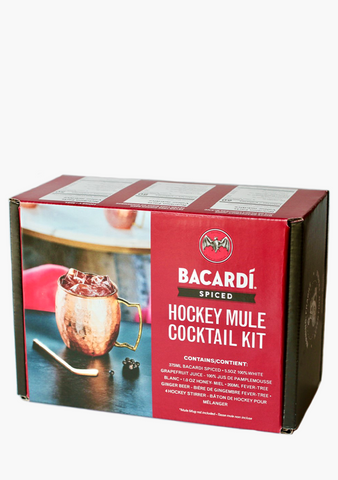 Bacardi Spiced 'Hockey Mule' Cocktail Kit