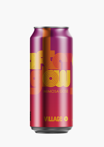 Village 'Afterglow' Mimosa Gose - 4 X 473ML