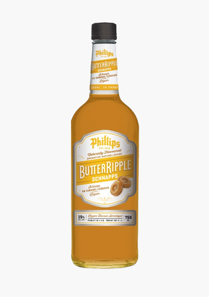 Phillips Butter Ripple Schnapps-Liqueurs