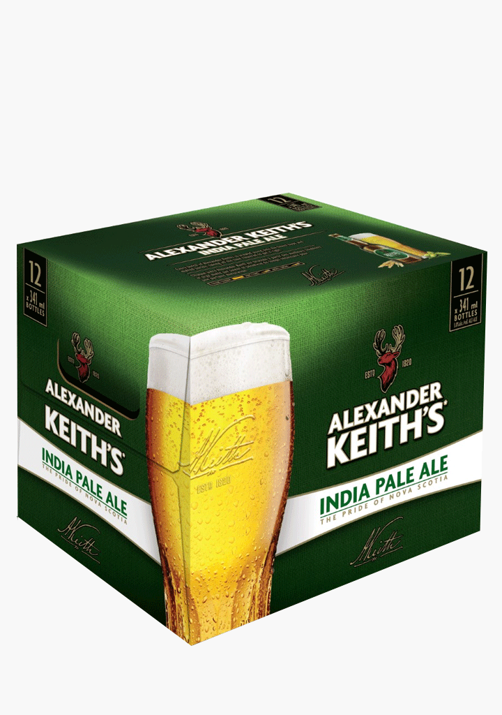Alexander Keith's - 12 x 341 ml-Beer