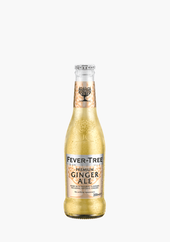 Fever Tree Ginger Ale - 4x200ml-Giftware