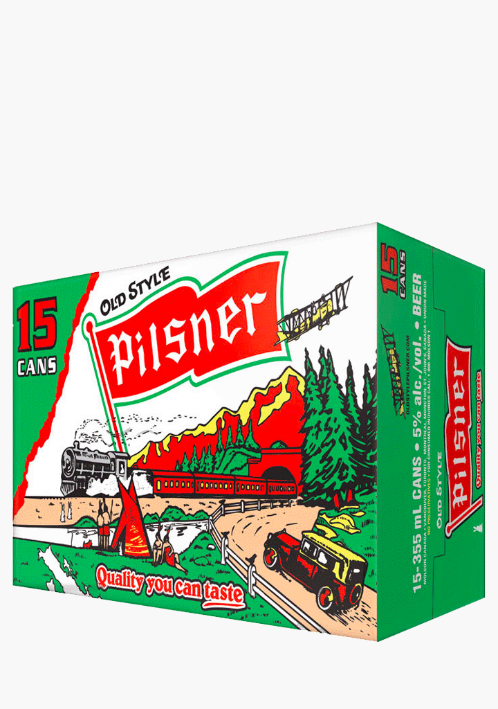 Pilsner Cans - 15 x 355 ml-Beer