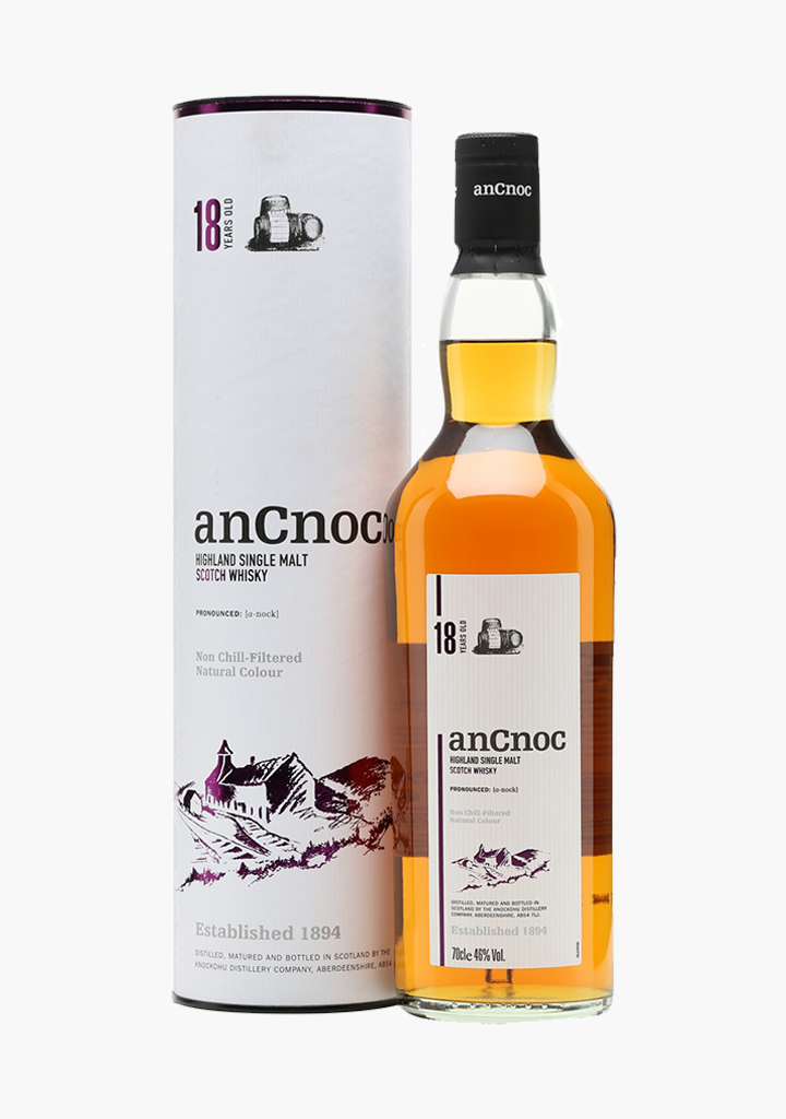 AnCnoc 18 Year Old-Spirits