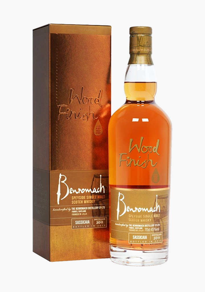 Benromach Sassicaia Wood Finish-Spirits