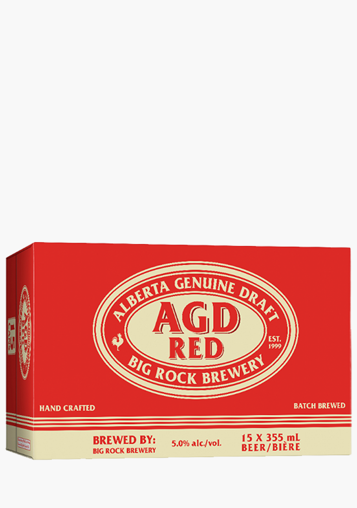 Big Rock AGD Red - 15 x 355ML-Beer