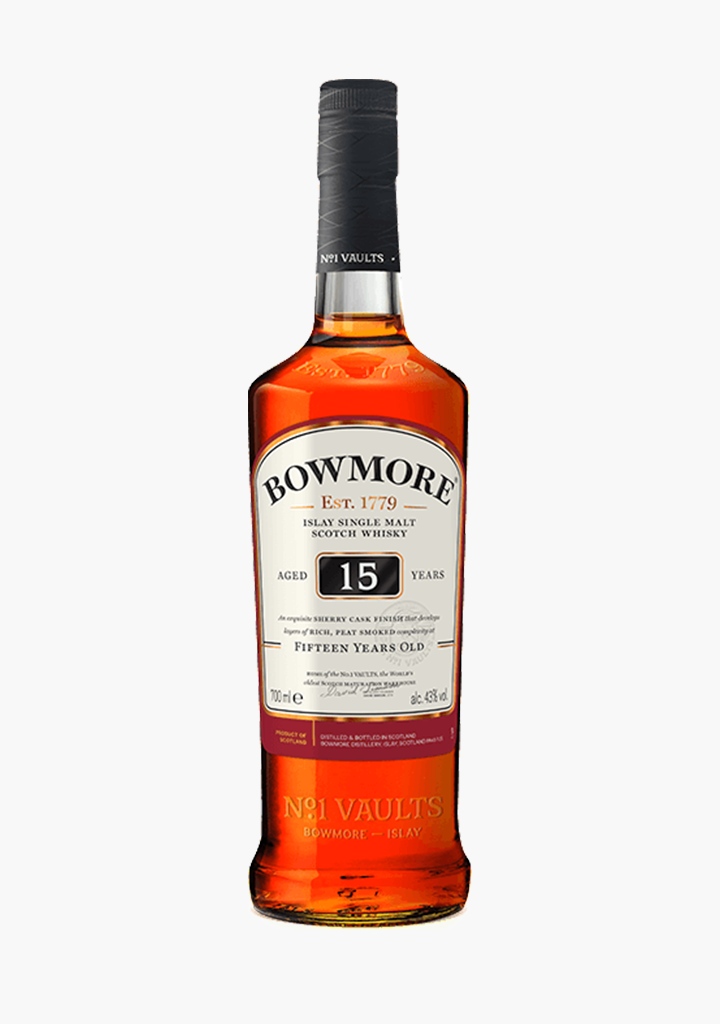 Bowmore 15 Year Old-Spirits