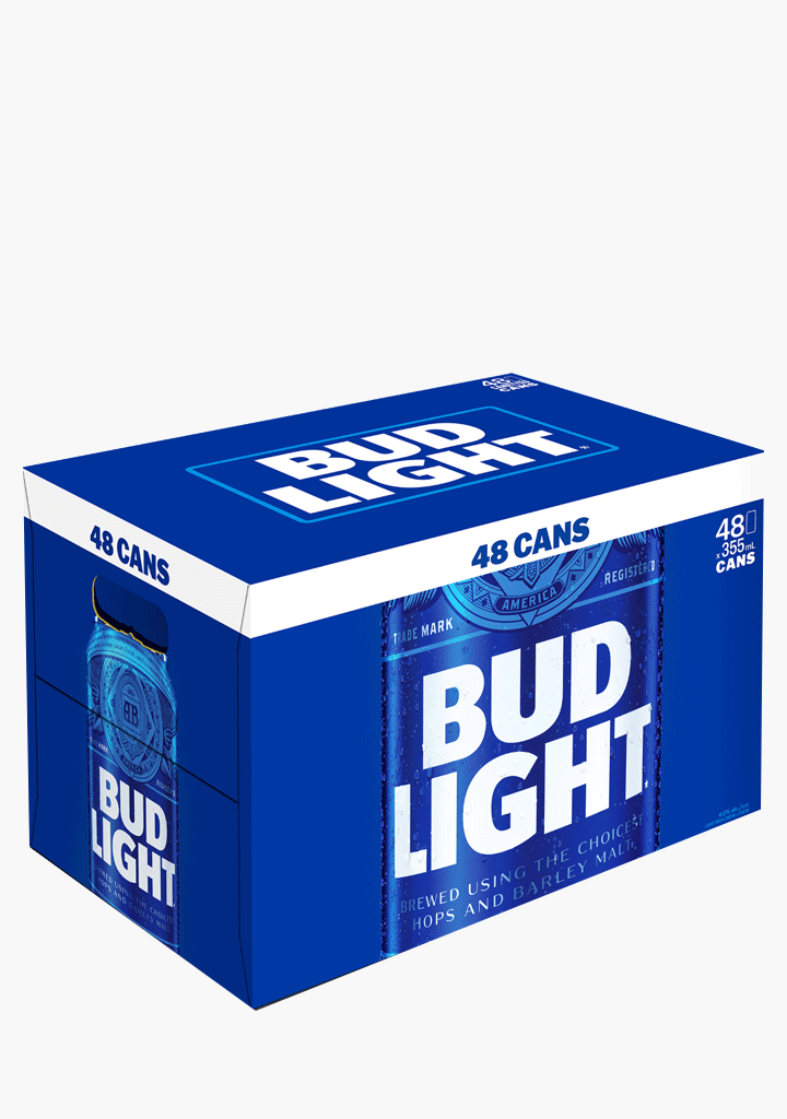 Bud Light - 48 x 355 ml-Beer