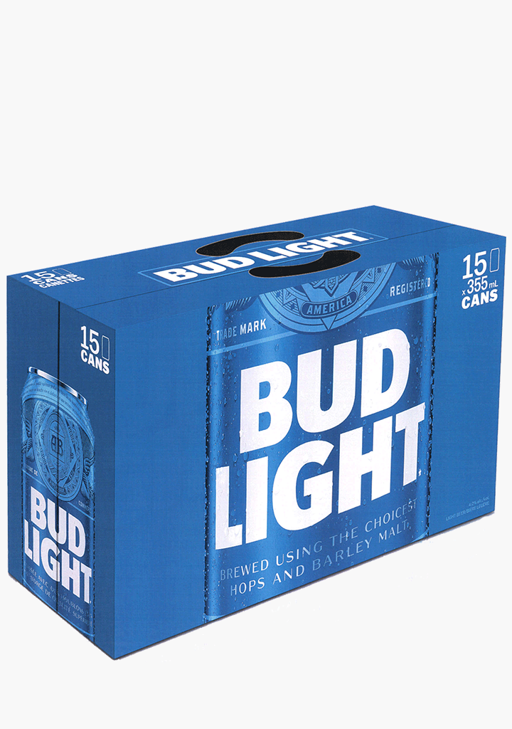 Bud Light Cans - 15 x 355ML-Beer