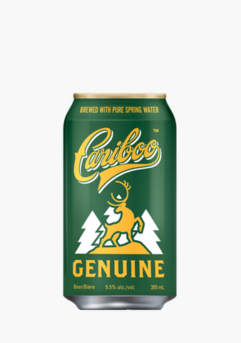 Cariboo Genuine Draft 15 x 355 ML-Beer