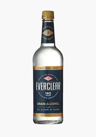 Everclear Alcohol 190 Proof-Spirits
