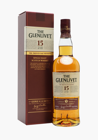 Glenlivet French Oak 15 Year Old-Spirits